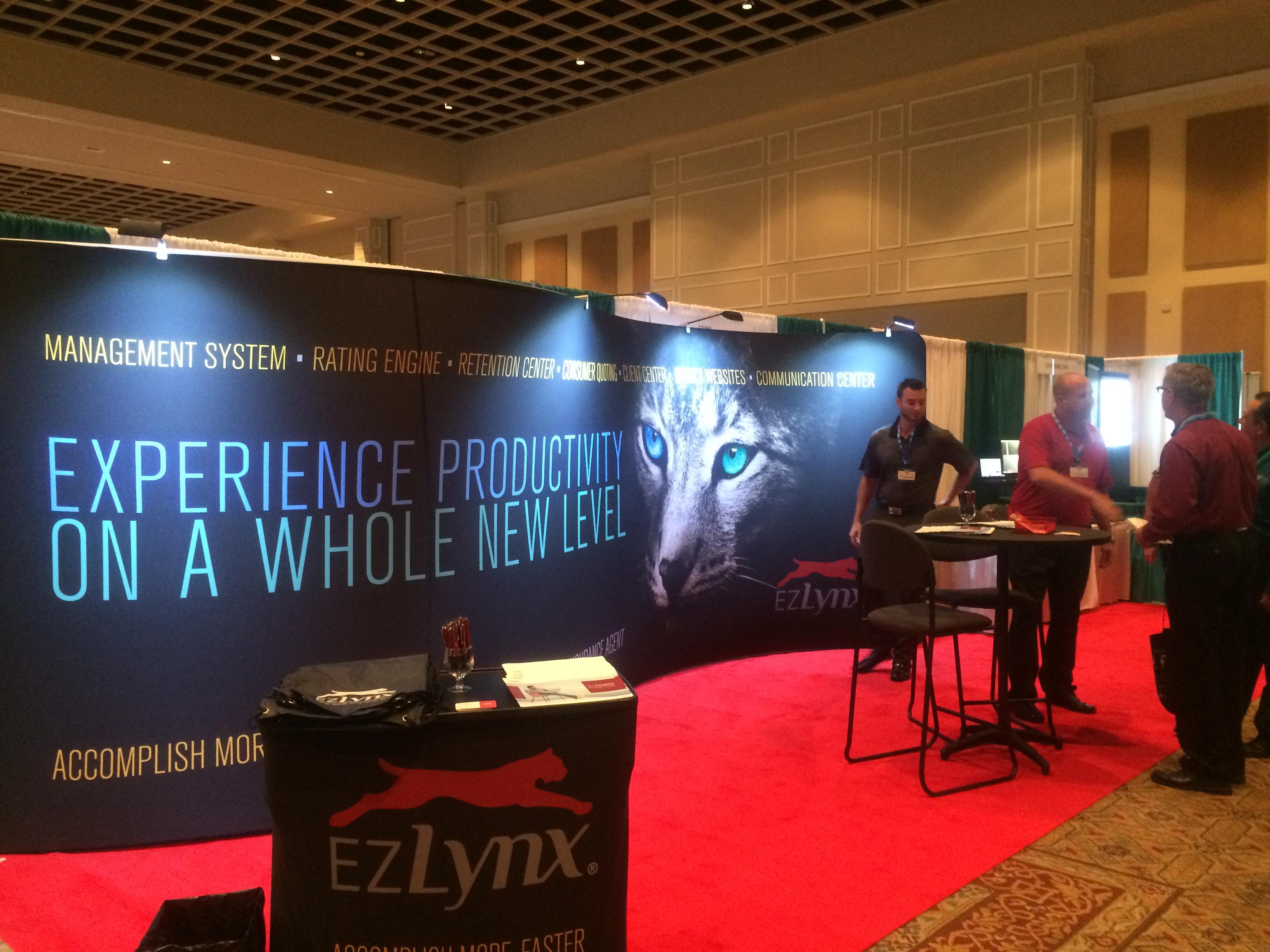 EZLynx Trade Show Booth