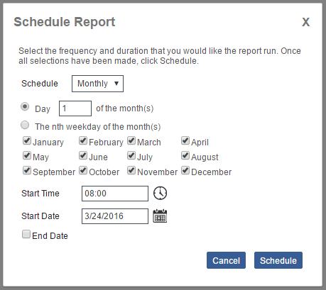EZLynx Reporting - Schedule a Report